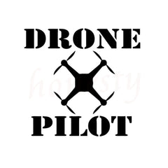 DRONE PILOT Sticker - DRONECLOTHES