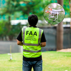 Image of Drone Pilot Safety Reflective Vest