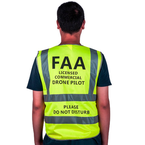 Drone Pilot Safety Reflective Vest - DRONECLOTHES