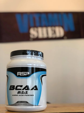 RSP BCAA 2:1:1 Amino Acid Powder - Unflavoured