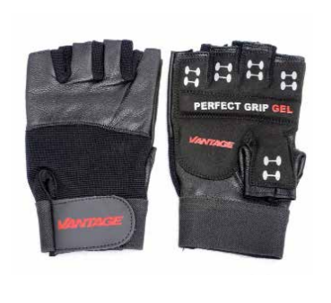 Vantage Equipment - Gym Gloves Classic Black - Large
