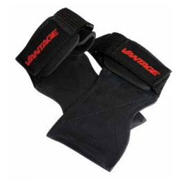 Vantage Equipment - Lift Master - Self supporting Gym Glove - Black - Large