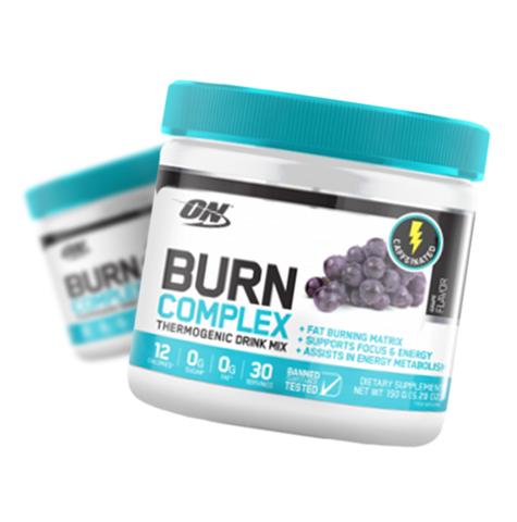 Optimum Nutrition Burn Complex Thermogenic Drink (Caffeinated)