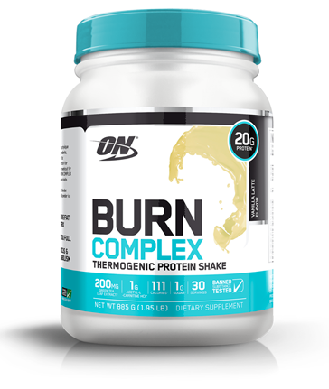 Optimum Nutrition Burn Complex Thermogenic Protein Shake