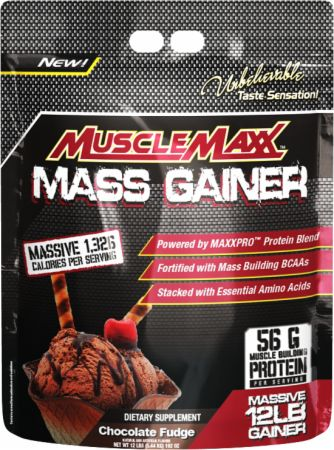 Musclemaxx Mass Gainer 5.44kg Protein Muscle Gain Weight Gain