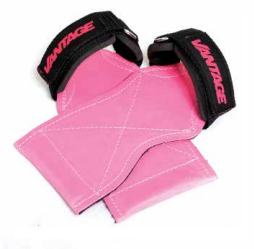 Vantage Equipment - Womens Lift Master - Self supporting Gym Glove - Pink -Small