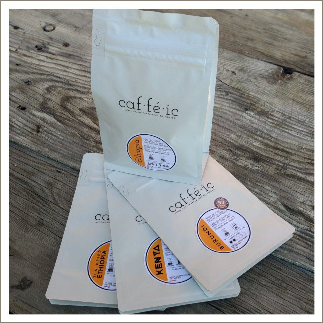 African Single Origin - Whole Coffee Beans - 12oz bag