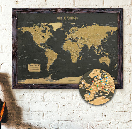 Best selling push push pin maps tagged push pin ready kr maps world map gold push pin gumiabroncs Gallery