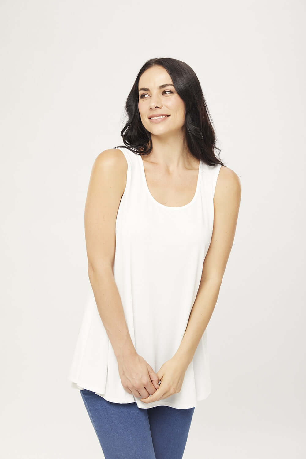Philosophy LAYER Ivory Swing Tunic