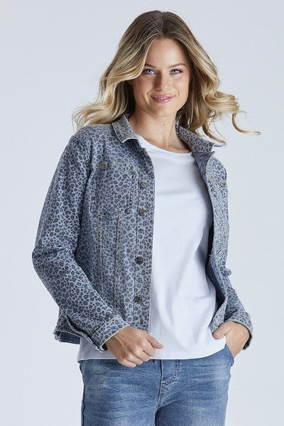 Threadz Reversible Denim Jacket 38422