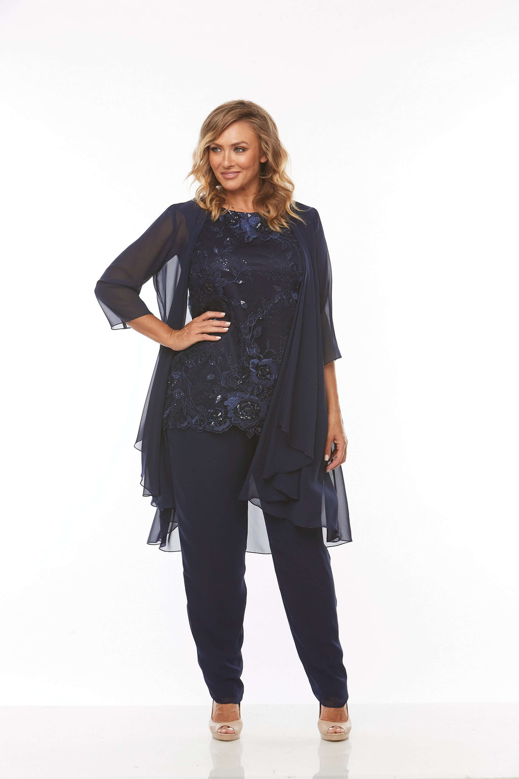 Layla Jones Midnight Pantsuit LJ0234