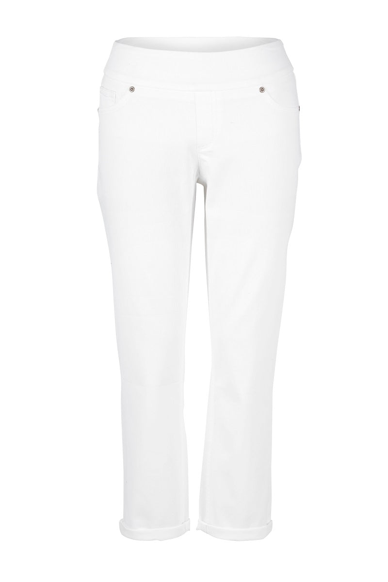 Up 25 Inch Denim Crop Jean in Natural White 65759iUP