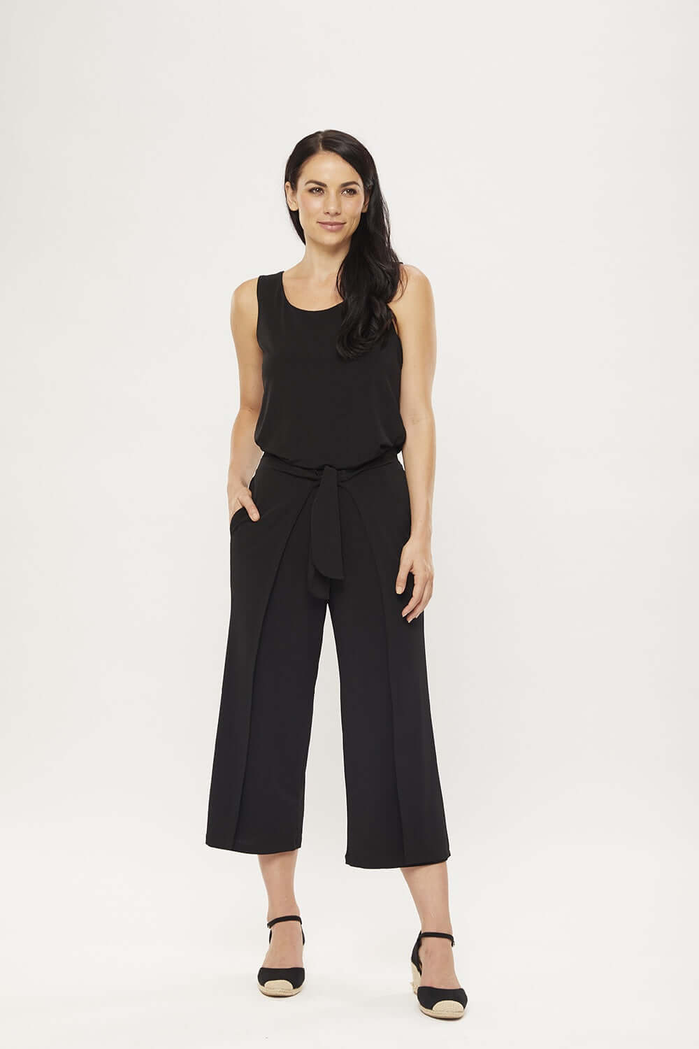 Philosophy THAI Black Wrap Culotte