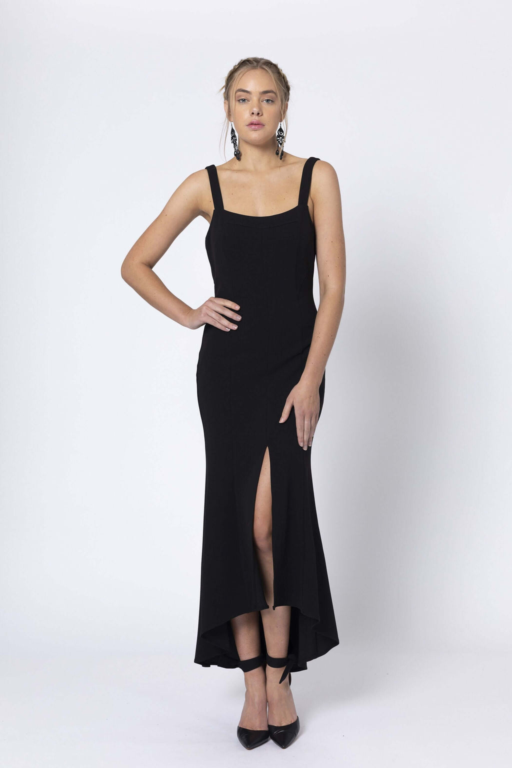 Romance Besos Black Cocktail Dress RD201012 (4528275030101)
