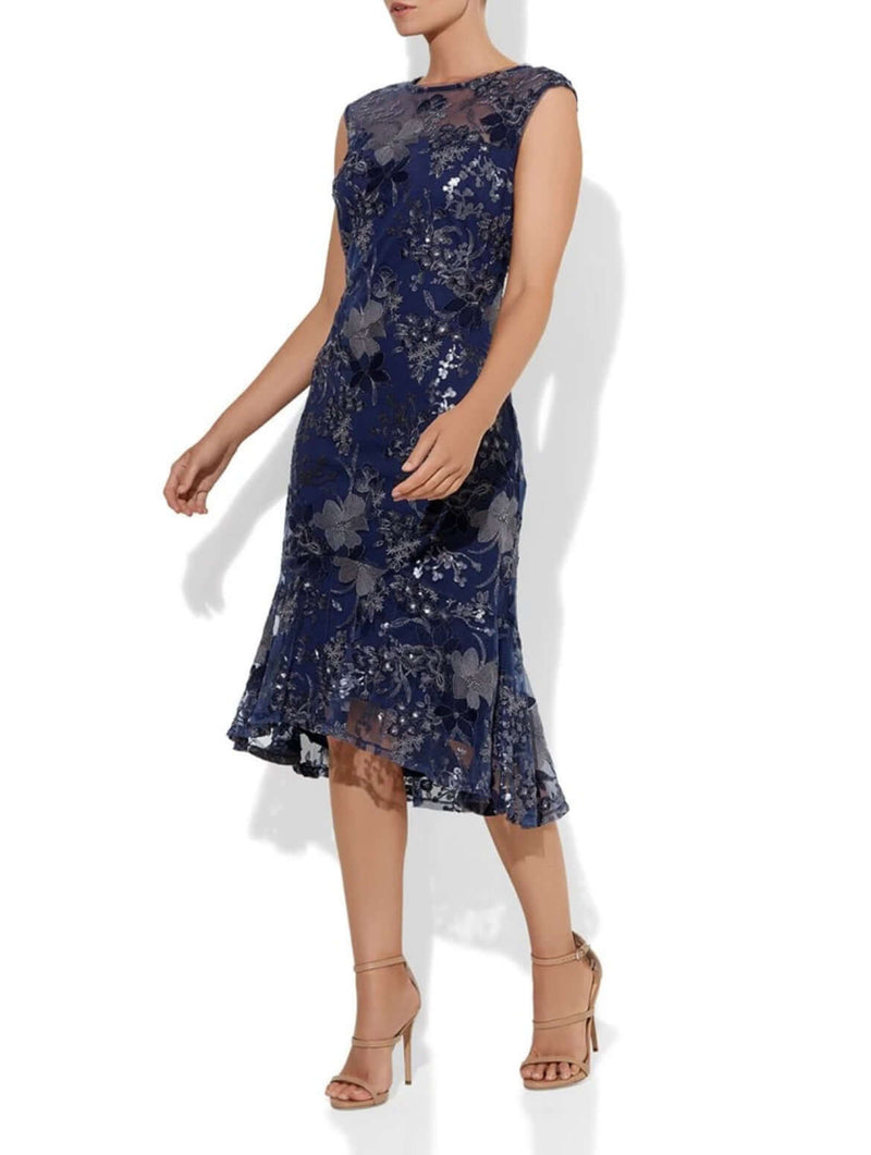 Montique Celia Embroidered Dress