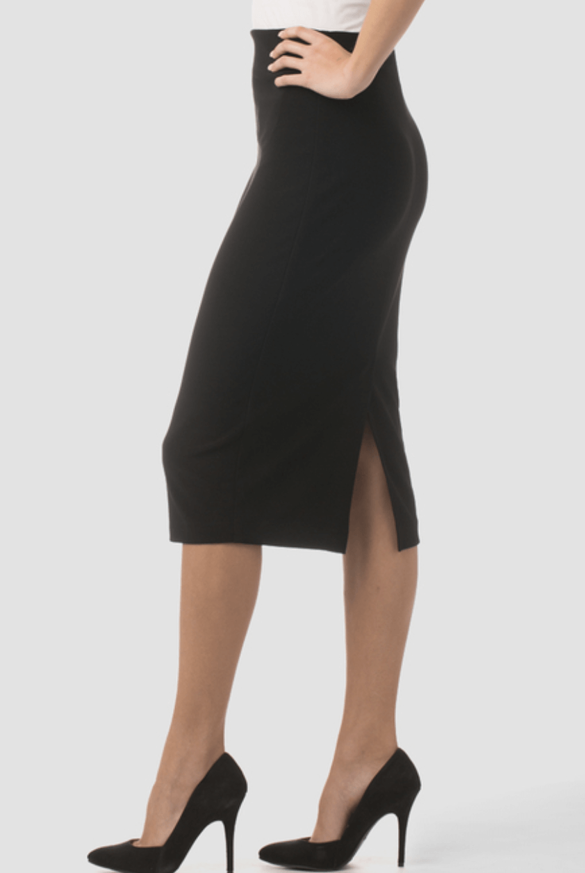 Joseph Ribkoff Jersey Pull On Pencil Skirt in Black or Midnight 163083