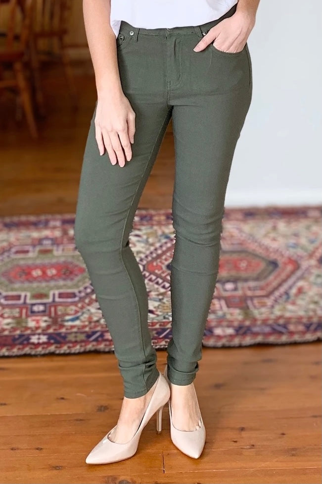 Wakee Stretch Khaki Jean 60105