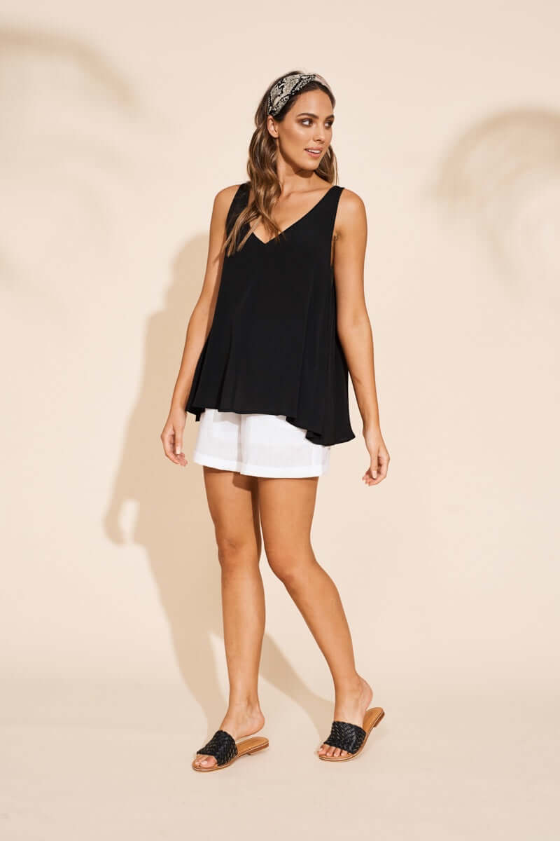 Eb & Ive Savannah Tank in Black