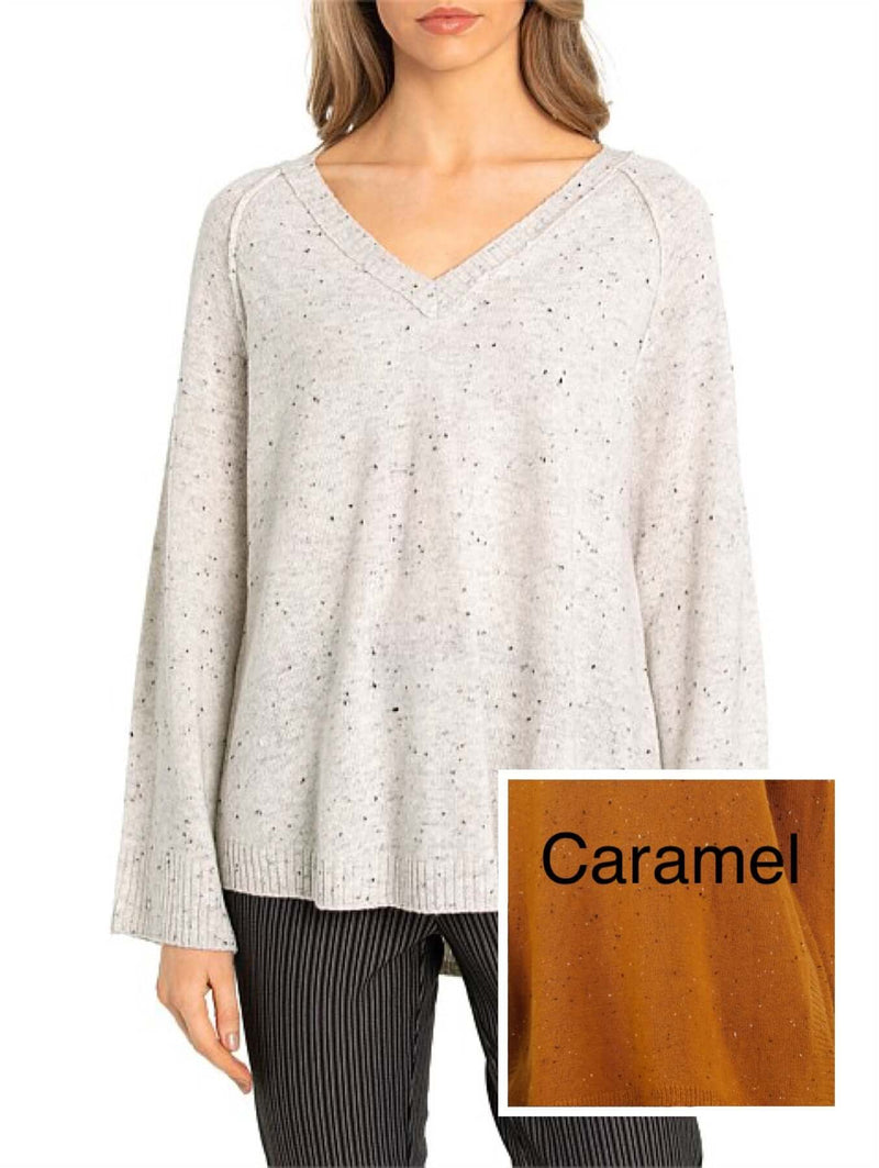 Marco Polo Caramel Relaxed Sweater 3177