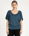 Betty Basics Maui Tee in Teal BB506W21