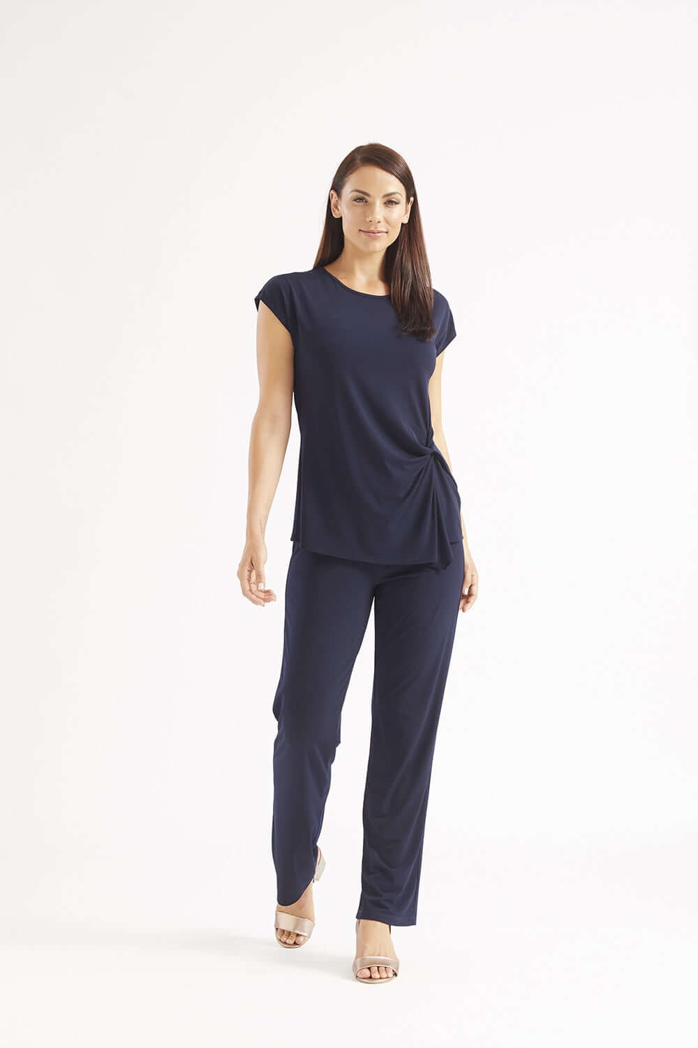 Philosophy Navy LINEAR pant (4561173086293)