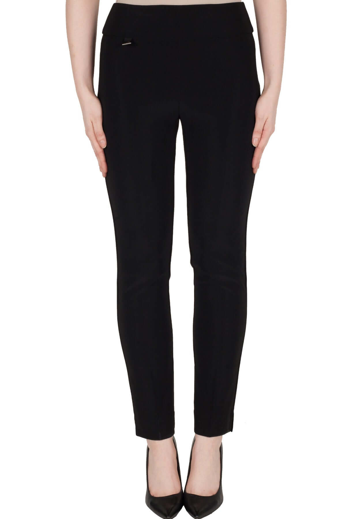 Joseph Ribkoff slim leg pull on jersey pant with side split 144092