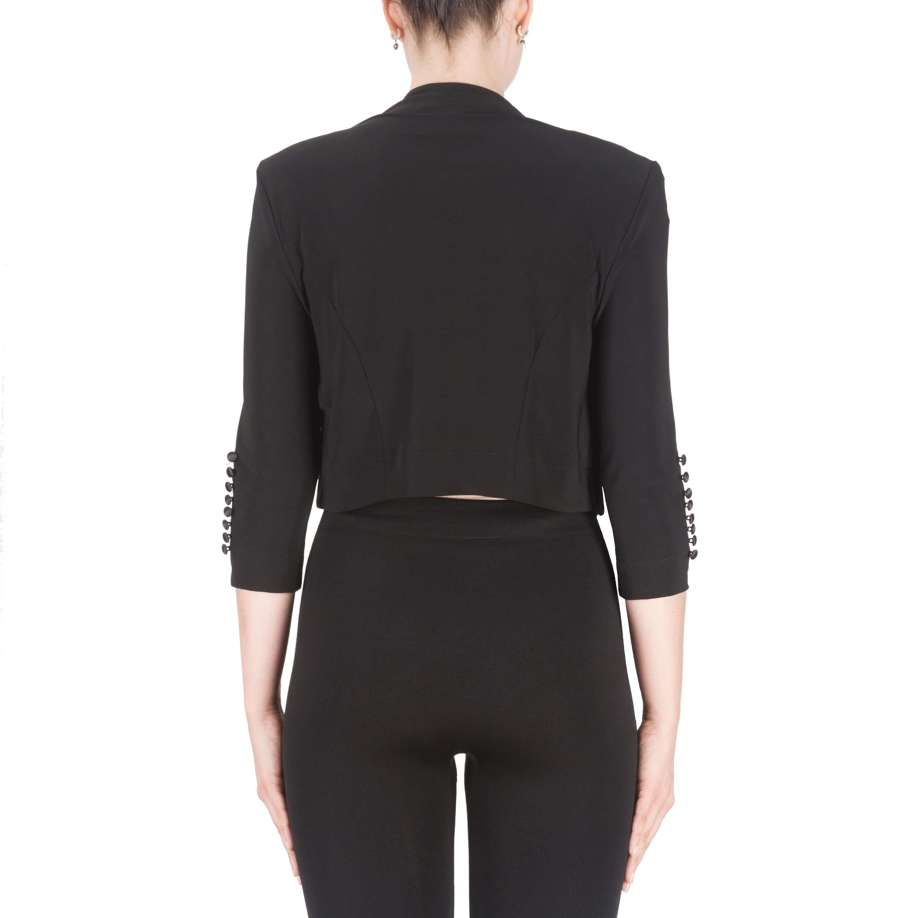 Joseph Ribkoff Jersey Bolero in Black or Midnight 32083