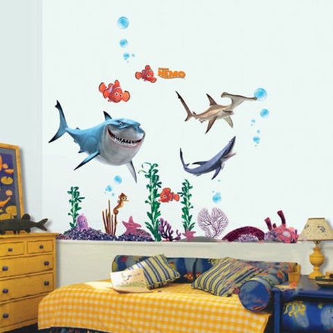 ... 3D Under The Sea Wall Decal