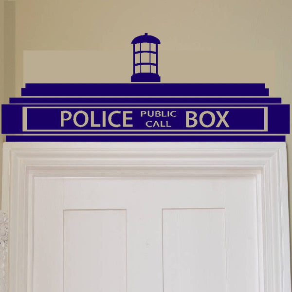 Police Box Wall Decal