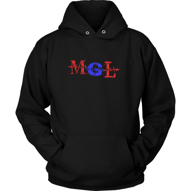 Unisex Hoodie MGL 50/50 cotton/poly fleece