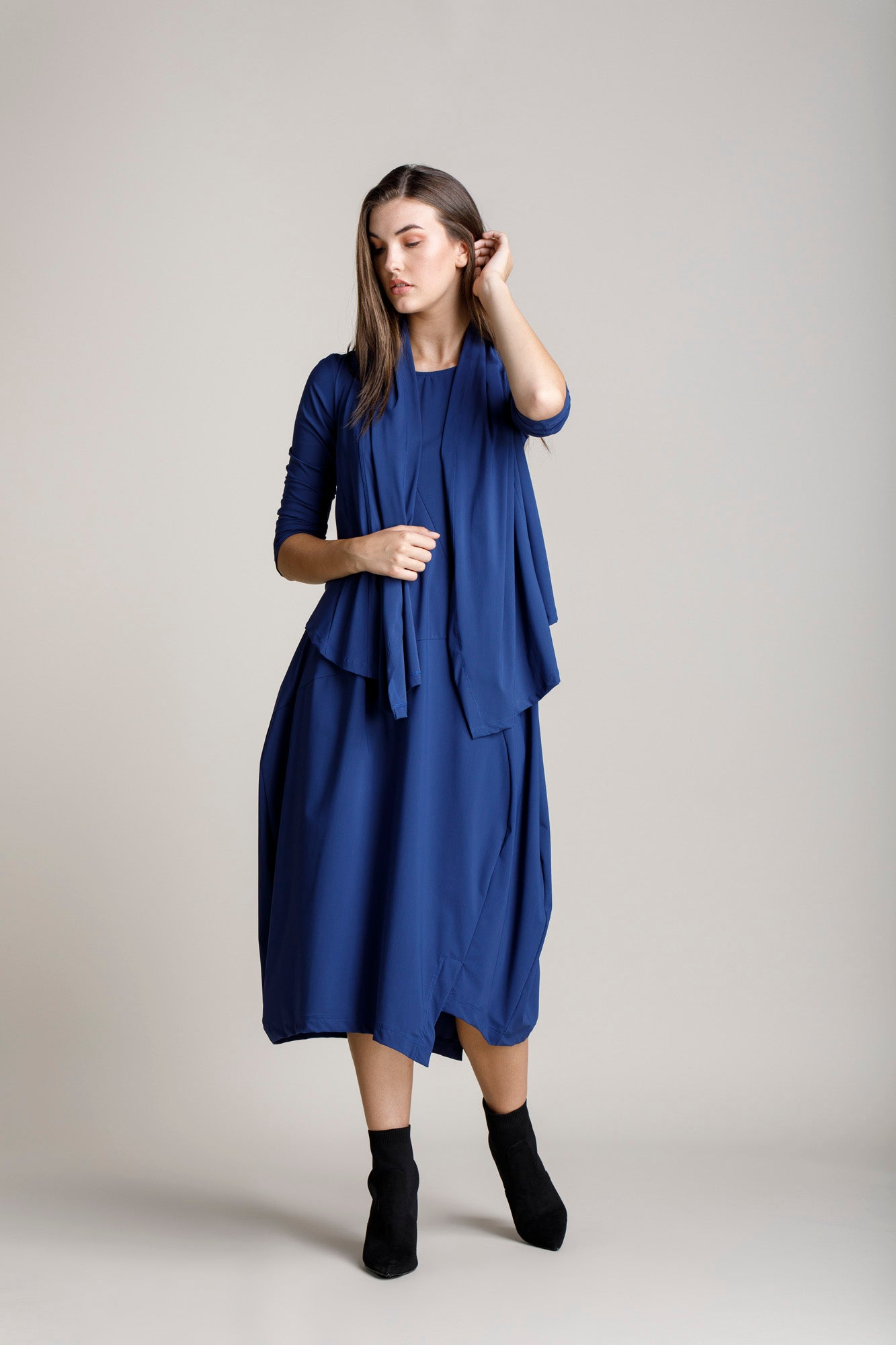 Indigo Wrap Duster 5267