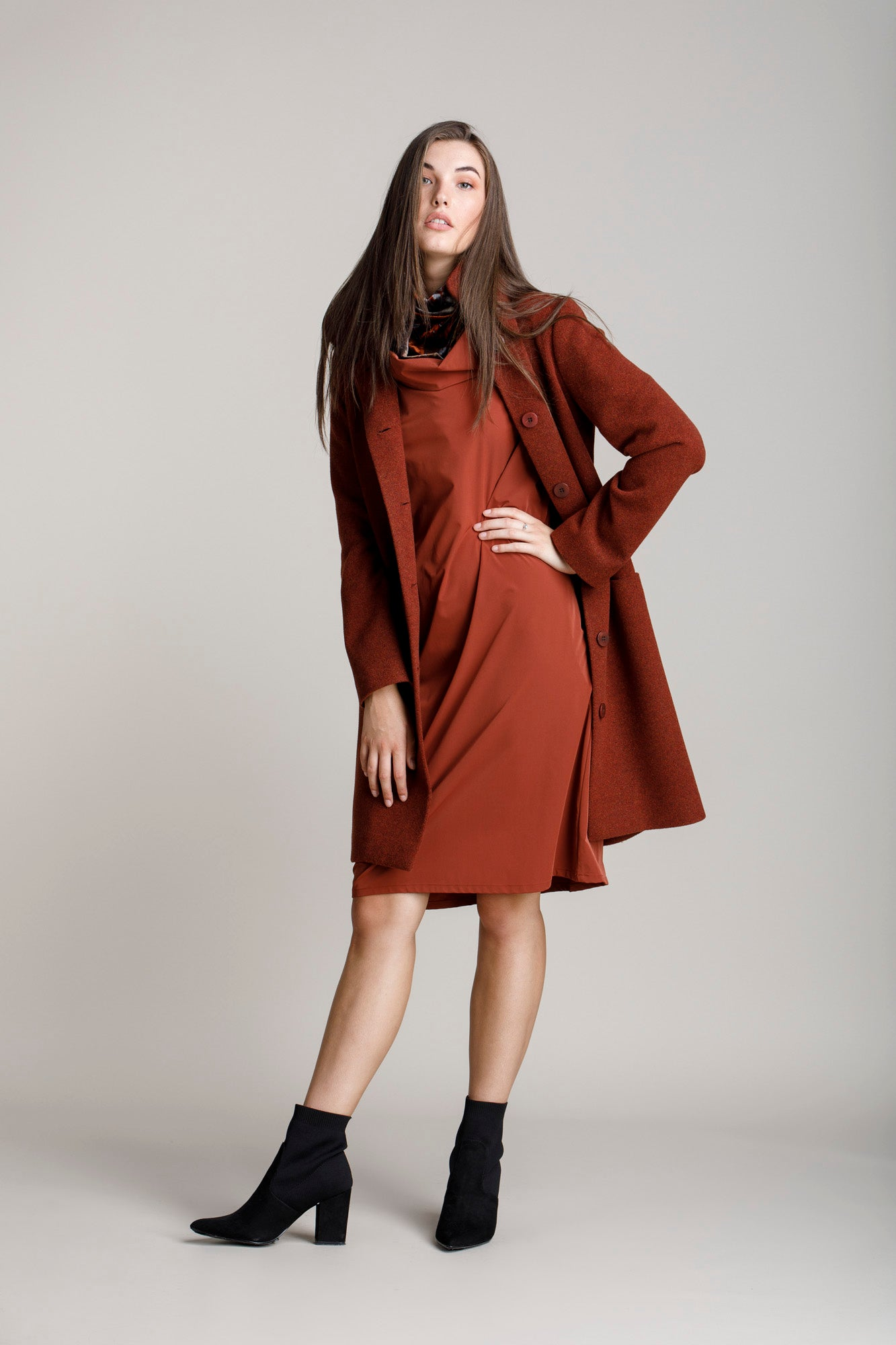 Paprika Hip Pocket Coat 5274