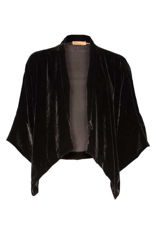 Black Velvet Extended Cover-Up 5205