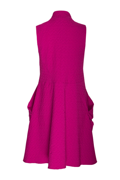 Cerise Long Tucked Vest 7244
