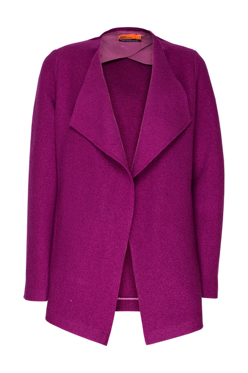 Cerise Waterfall Jacket 5214