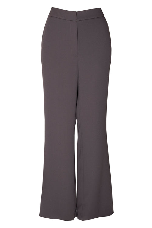 Charcoal High Waisted Pant 3262