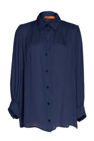 Navy 4 Button Shirt 9218