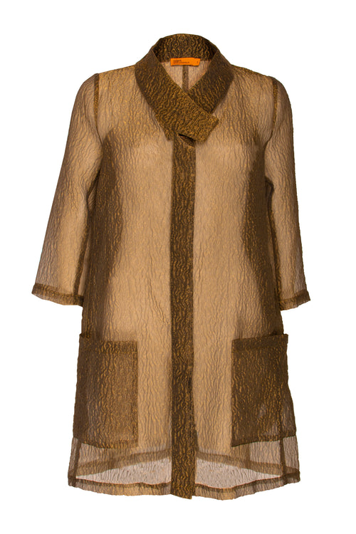 Gold Tab Collar Duster 7242