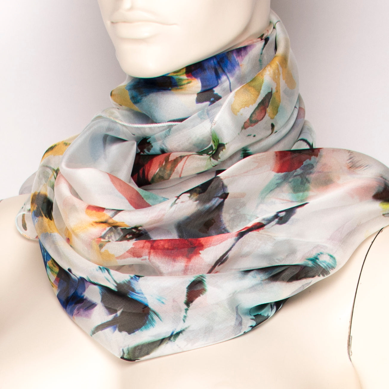 Graffiti Silk Scarf