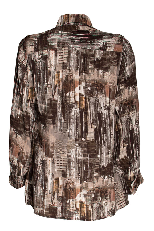 Landscape Gathered Yoke Shirt 9225
