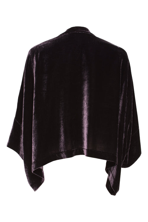 Plum Velvet Extended Cover-Up 5206