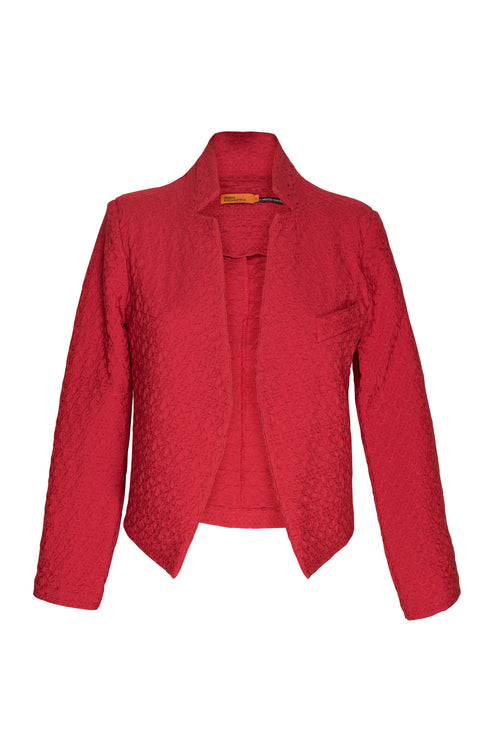 Rouge High Collar Classic Jacket 4261