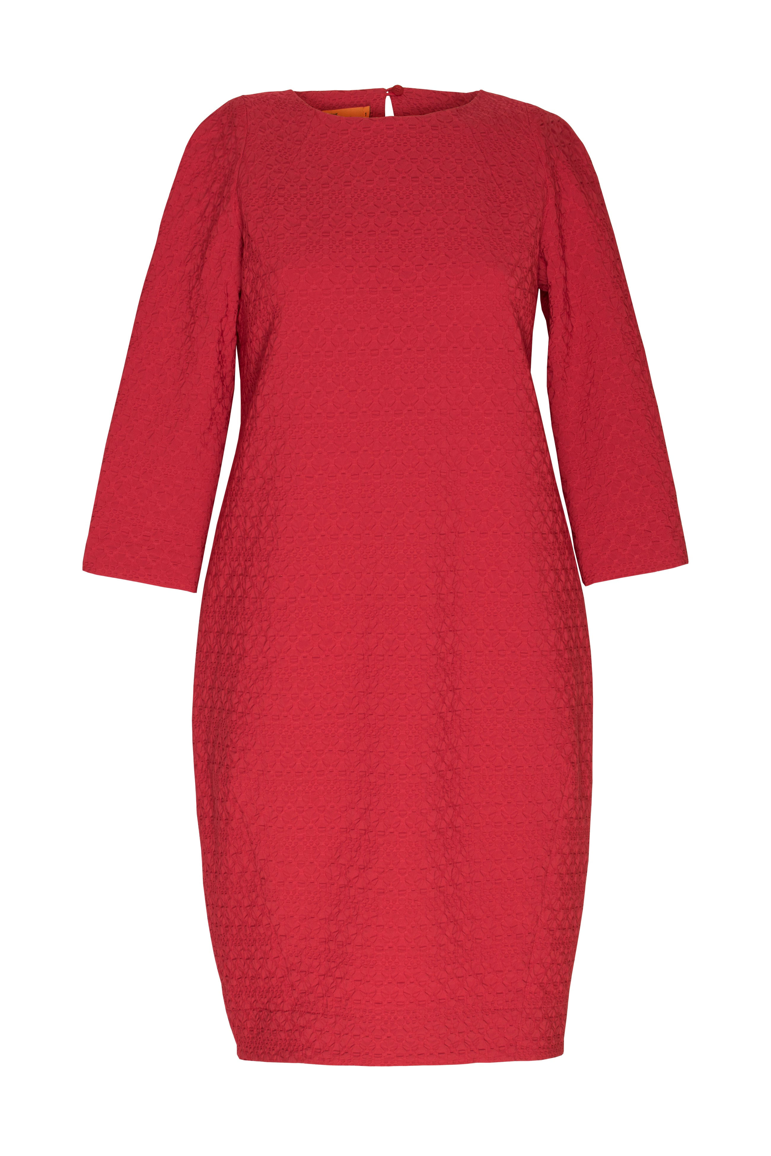 Rouge 3/4 Sleeve Tulip Dress 4253