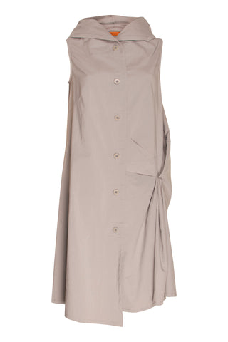 Mocha Sheer Soft Seamed Dress 8216