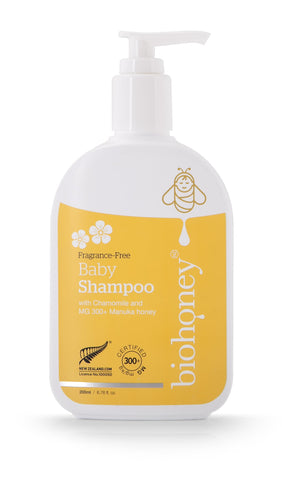 Biohoney Fragrance Free Baby Shampoo, Manuka Honey | Shop Online | NZ