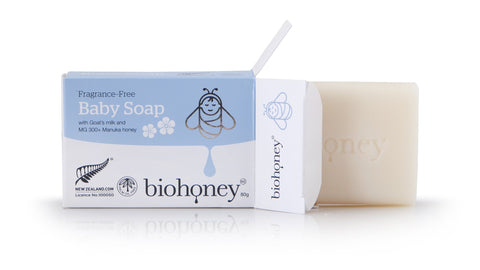 buy Fragrance Free Baby Shampoo online at Natural Zealand by BioHoney , Baby Care