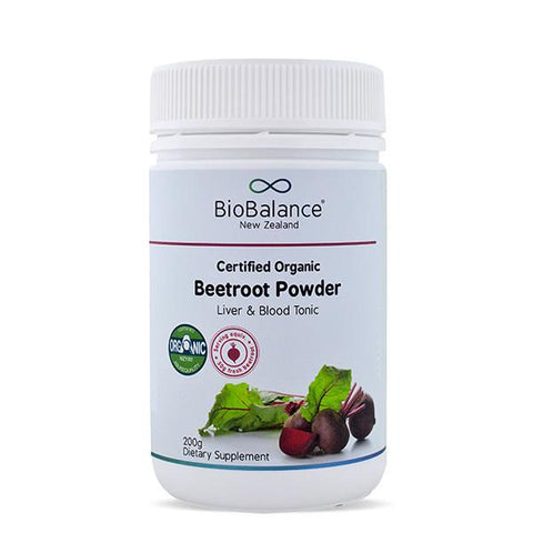 Digestion & Detox - Beetroot Powder Certified Organic 200g
