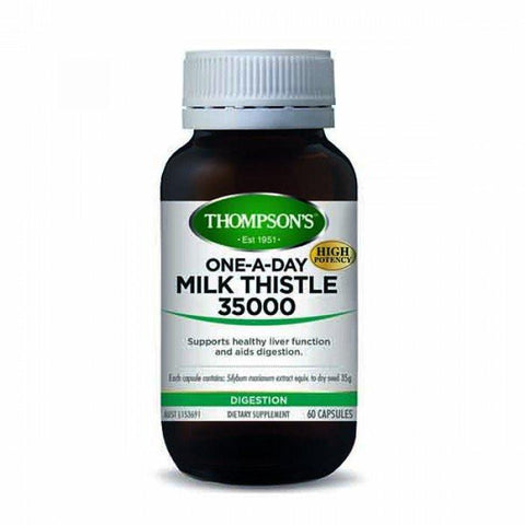 Digestion & Detox - One-A-Day Milk Thistle 35000 60C