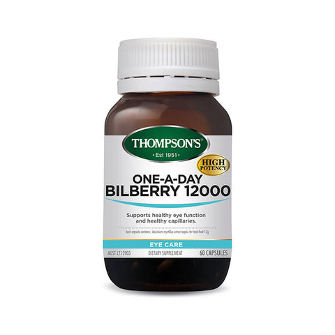 Eyes - One-A-Day Bilberry 12000mg 60C