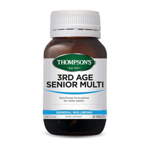 General Wellbeing - 3rd Age Senior Multi